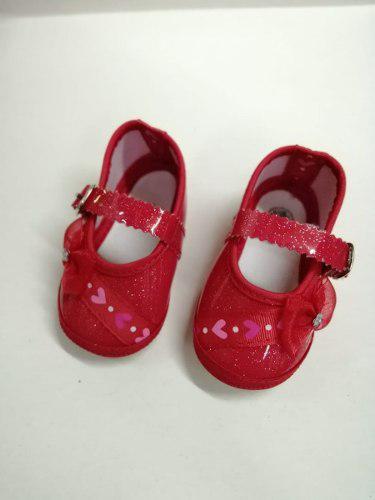 Zapatos para bebes niñas de tela moda infantil colombi