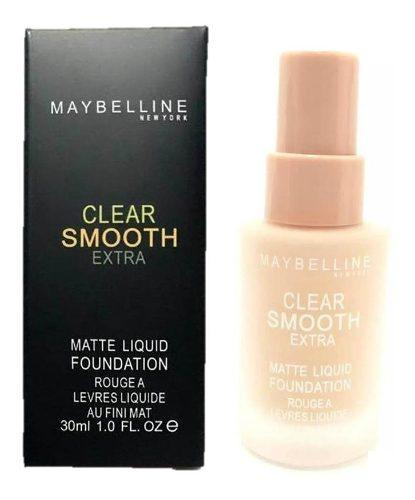 Bases maybelline clear smoot maquillajes tienda x2