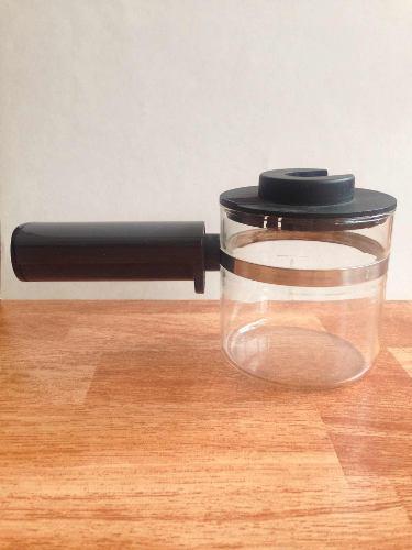 Jarra cafetera de vidrio capuchino felonghi hecha en italia