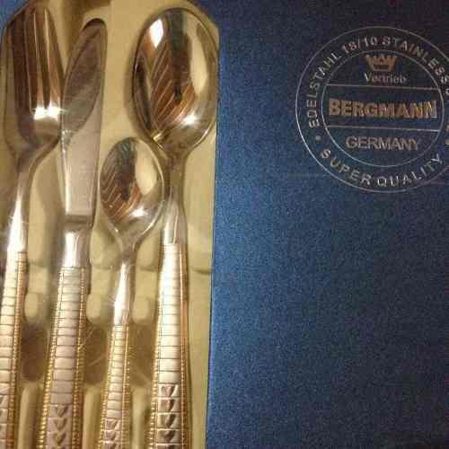 Juego cubiertos bergmann 24 piezas (originales