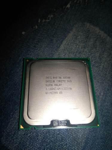 Procesador intel core2duo socket 775 3.16ghz 1333mhz 6mb