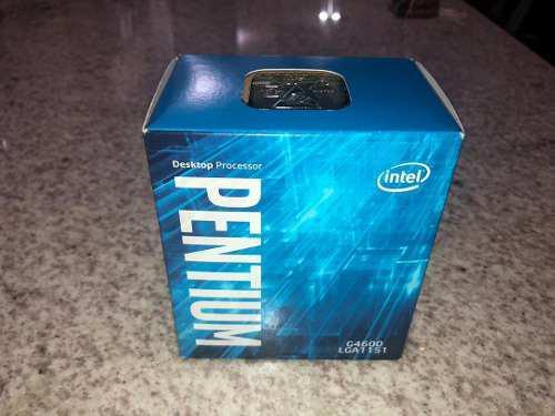 Procesador intel pentium g4600 3.6 ghz socket 1151 nuevos i3