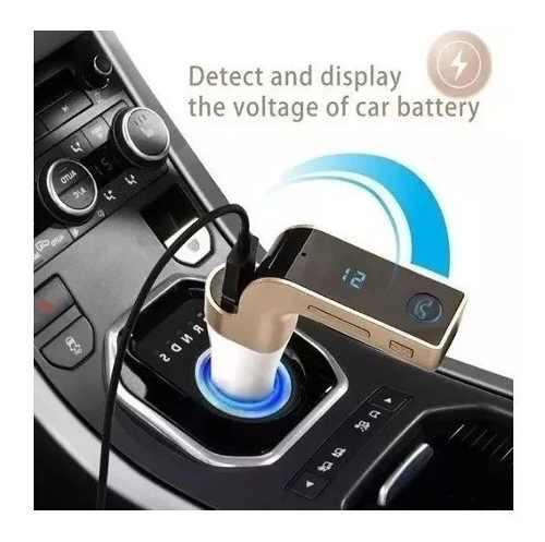 Adaptador transmisor reproductor carro bluetooth original