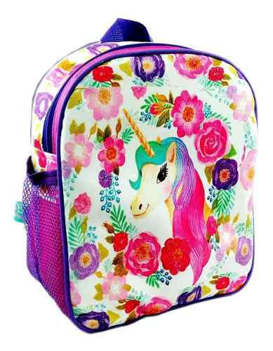 Bolsos morrales escolares morralkids unicornio princesas