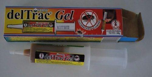 Deltrac gel 30g elimina cucarachas y chiripas