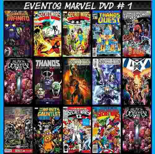 Eventos marvel varias sagas comic digital completo