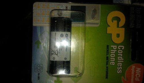 Pilas de telefonos inalambrico recargables modelo t390 2,4v