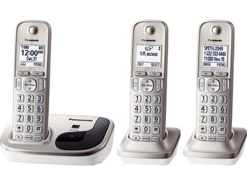 Telefono inalambrico panasonic digital / dect 6.0 plus / lcd