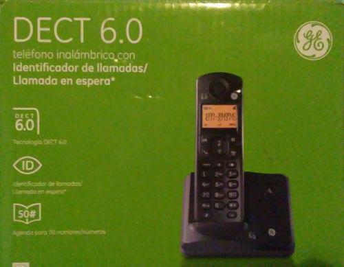 Teléfono inalámbrico dect 6.0.general electric.nuevo en