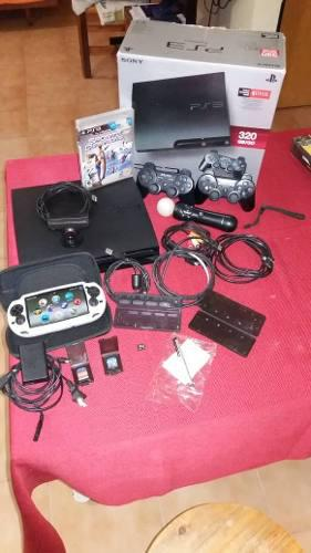 Combo playstation 3 ps3 + psp vita