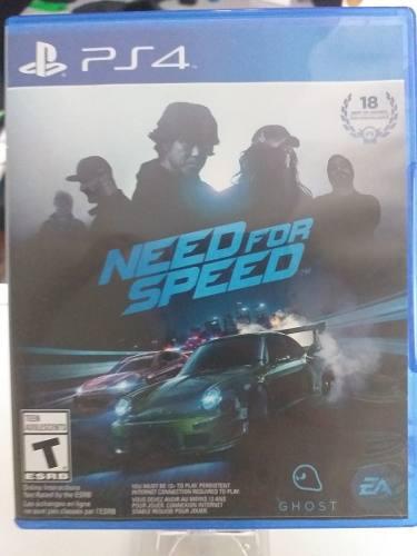 Juegos ps4 need for speed original somos tienda