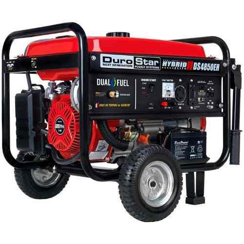 Planta eléctrica o generador eléctrico dual y a gasolina