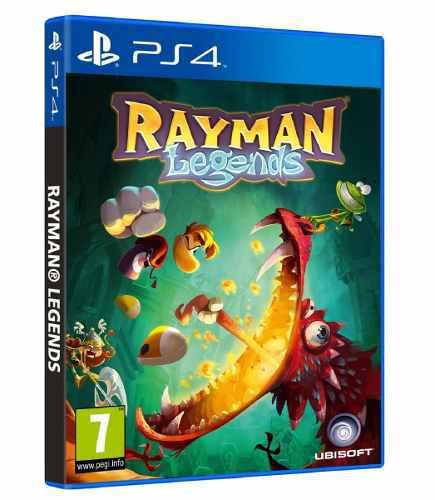 Ps4 juego rayman legends nuevo y sellado somos tienda fisica