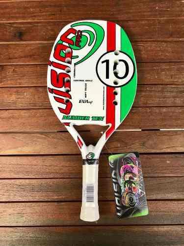 Raqueta de beach tennis vision ten 10