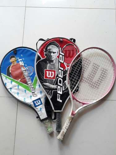 Raquetas tenis marca wilson para niños