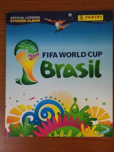 Album panini mundial brasil 2014 incompleto como nuveo (10$)