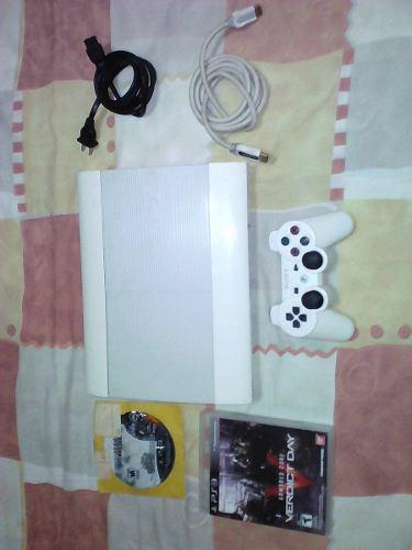 Play station 3 super slim 250gb vendo o cambio