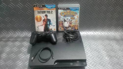Playstation 3 ps3 1 control 3 juegos fisicos y virtuales