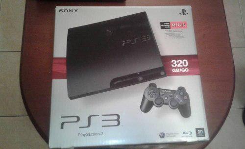Playstation 3.. ps3 de 320 gb.como nuevo en su caja.