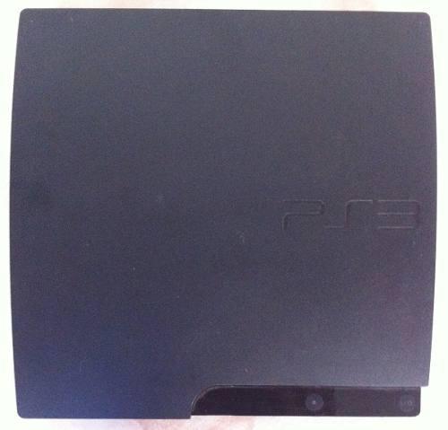 Playstation 3 sony, ps3 320 gb slim + 2 controles + 7 juegos