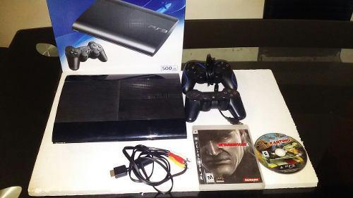 Playstation ps3 500gb super slim