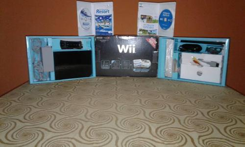 Wii negro (wii family edition))