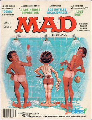Buscando la revista española MAD   Reward 7
