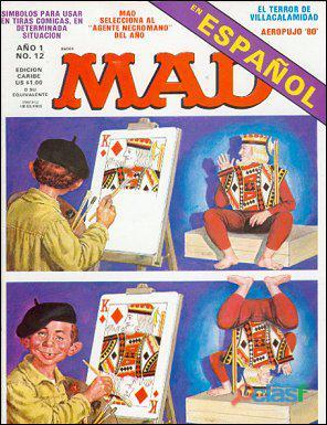Buscando la revista española MAD   Reward 12