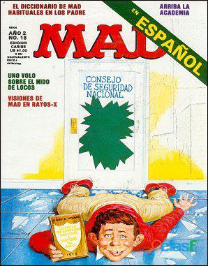 Buscando la revista española MAD   Reward 19