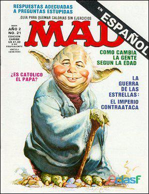 Buscando la revista española MAD   Reward 16