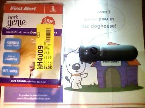 Antiladrido portatil entrenamiento perro ultrasonido control