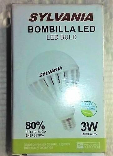 Bombillo led 3w sylvania luz blanca mayor y detal