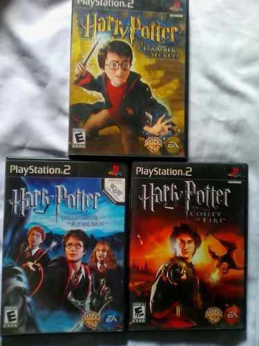 Juegos originales play 2 de harry potter...remate!!!
