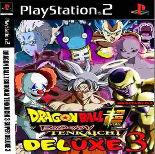 Juegos ps2 dragon ball z budokai tenkaichi 3 super deluxe
