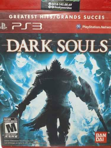 Juegos ps3 original dark soul en físico somos tienda