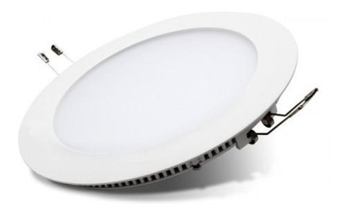 Pack 2 lampara panel ojos de buey spot led super slim de 3w
