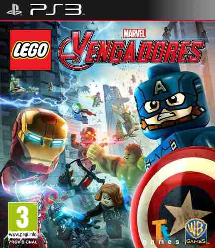 Ps3 combo lego avengers y marvel superheroes digital 16gb