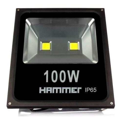Reflector led half 100w 6500k ip65 80l/w 85/265v hammer