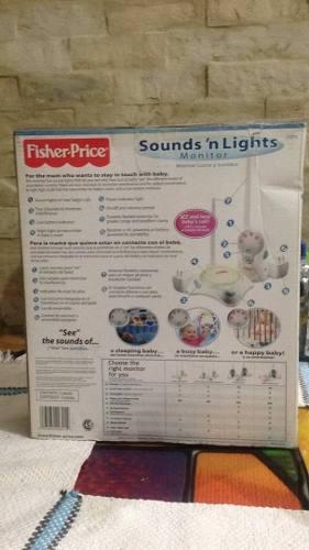 Monitor radio transmisor para bebe fisher price