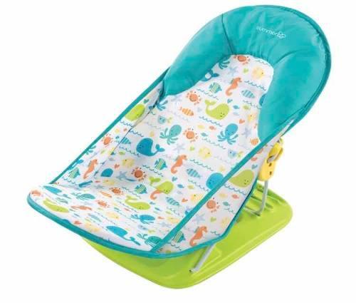 Silla de baño para bebés marca summer infant