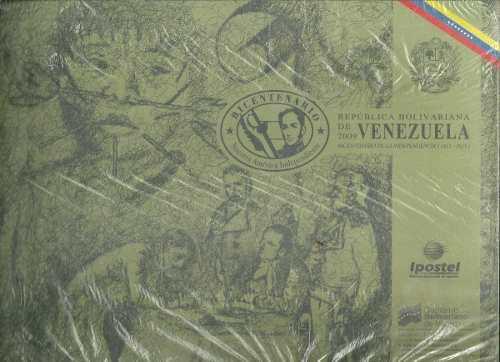 Album filatelico bicentenario de la independencia 1811-2011