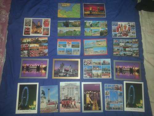 Coleccion de postales de inglaterra. originales