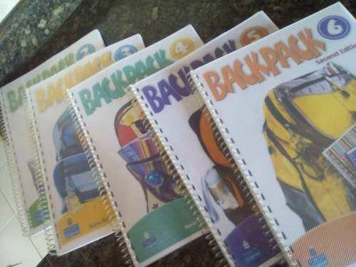 Libros backpack (fyr lois) con software interactivo y audios