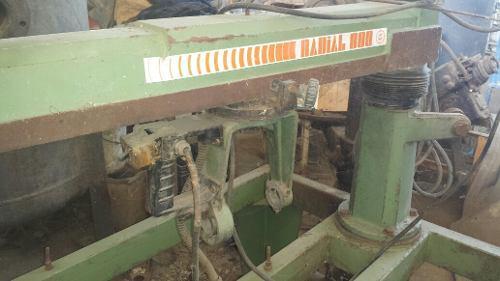 Maquina de carpinteria radial 800 italiana sin motor
