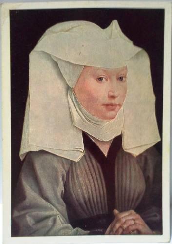 Postal años 60 van der weyden