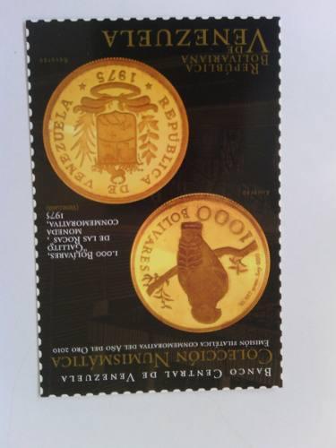 Postales colección numismatica conmemorativa del año del