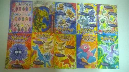 Postales pokemon 120 impecables perfectas condiciones