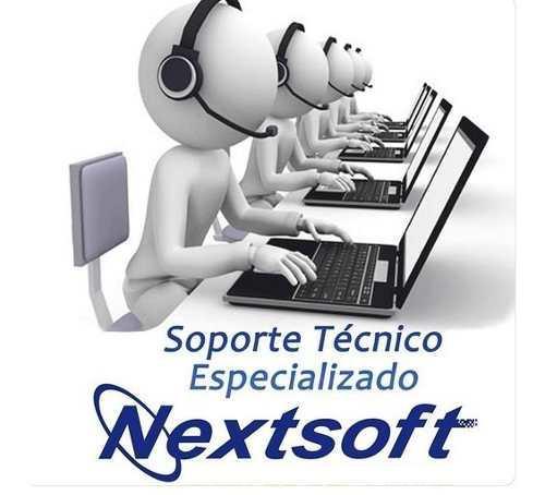 Soporte técnico especializado en sistemas de nextsoft