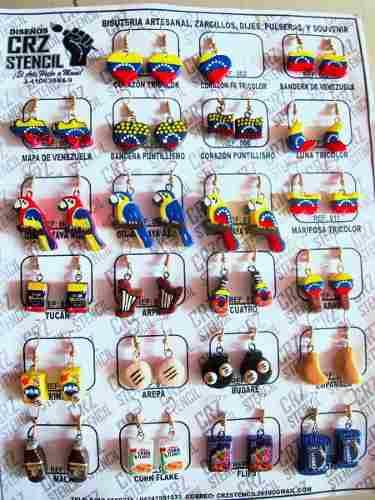24 dijes de venezuela para pulseras zarcillo soy fabricante