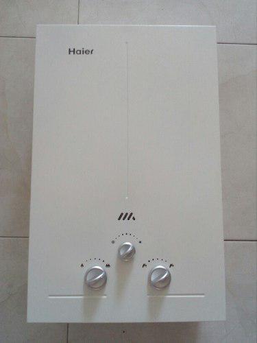 Calentador de agua a gas de 7 litros